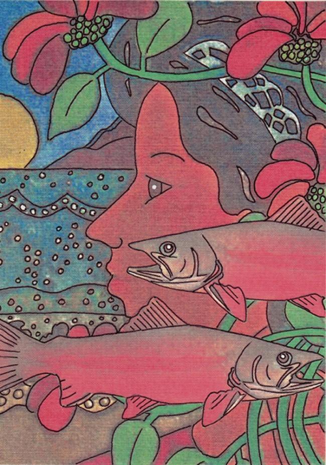 Dreamin' Salmon for Paula